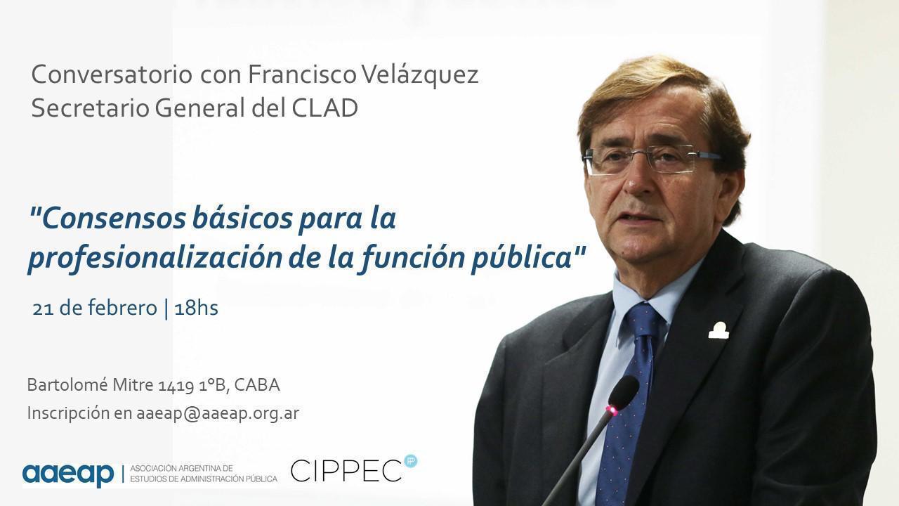 Consensos básicos para la profesionalización de la función pública