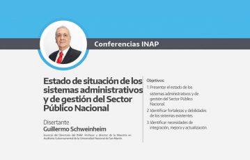 Estado de situación de los sistemas administrativos y de gestión del sector público nacional