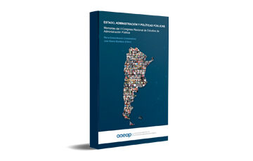 """Libro """"ESTADO, ADMINISTRACIÓN Y POLÍTICAS PÚBLICAS"""""""